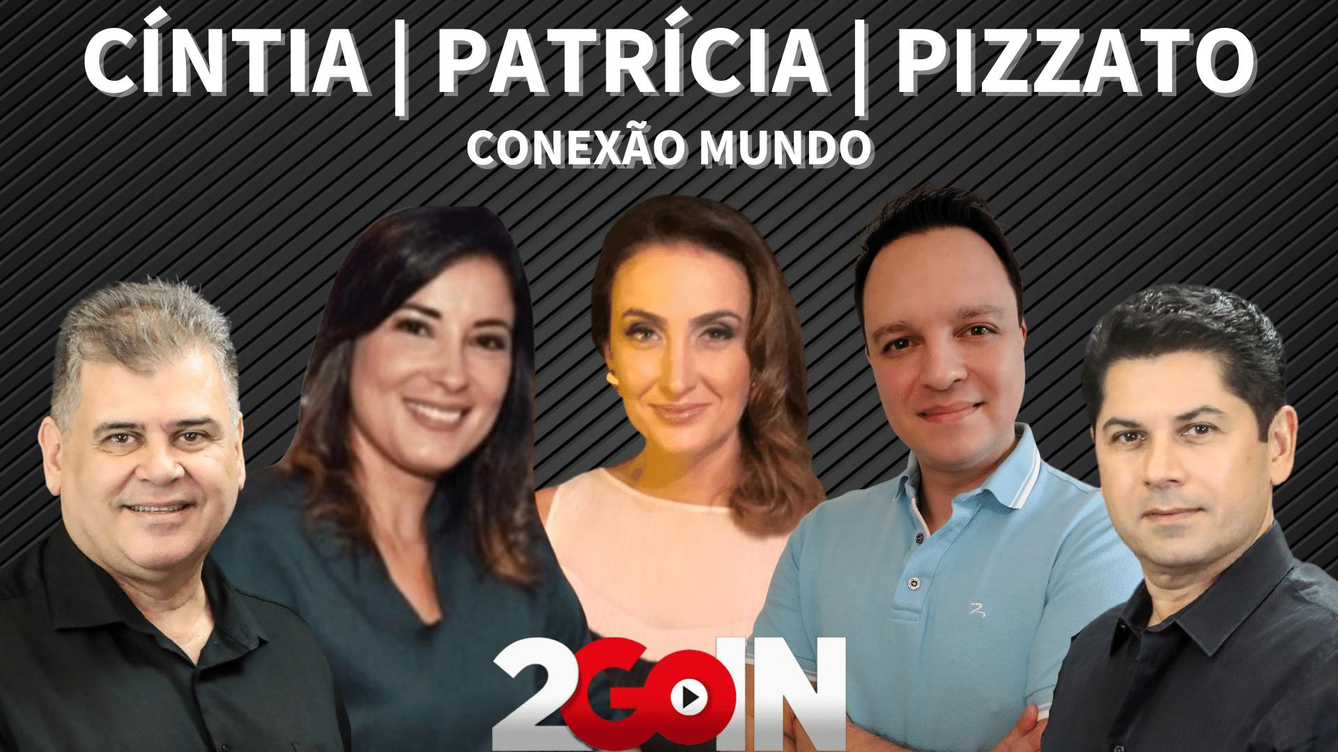 Conexão Mundo com Cíntia Lima, Patrícia Nielsen e Fábio Pizzato
