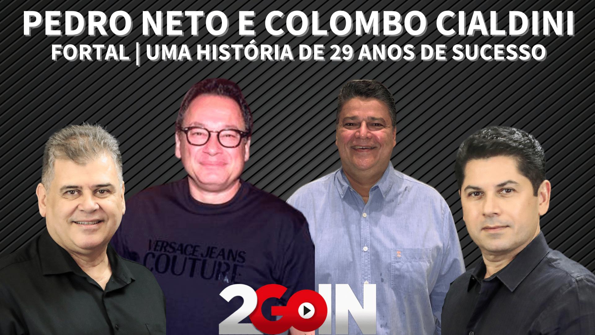 Pedro Neto e Colombo Cialdini   Fortal   Uma História de 29 anos de Sucesso