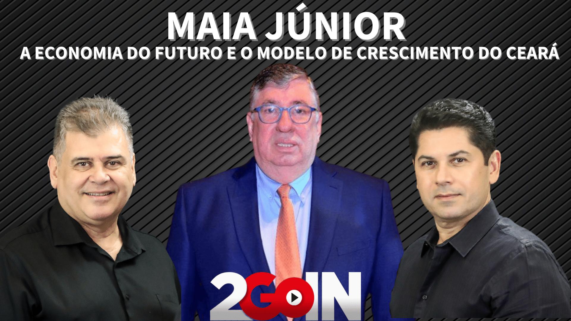 Maia Júnior fala da economia do futuro e do modelo de crescimento do Ceará