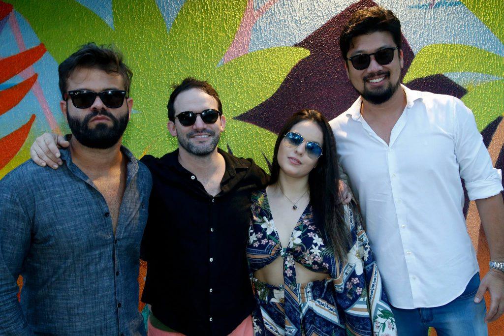 Andre Guerreiro, Pedro Lins, Gabriela Lacerda E Nathan Hirano