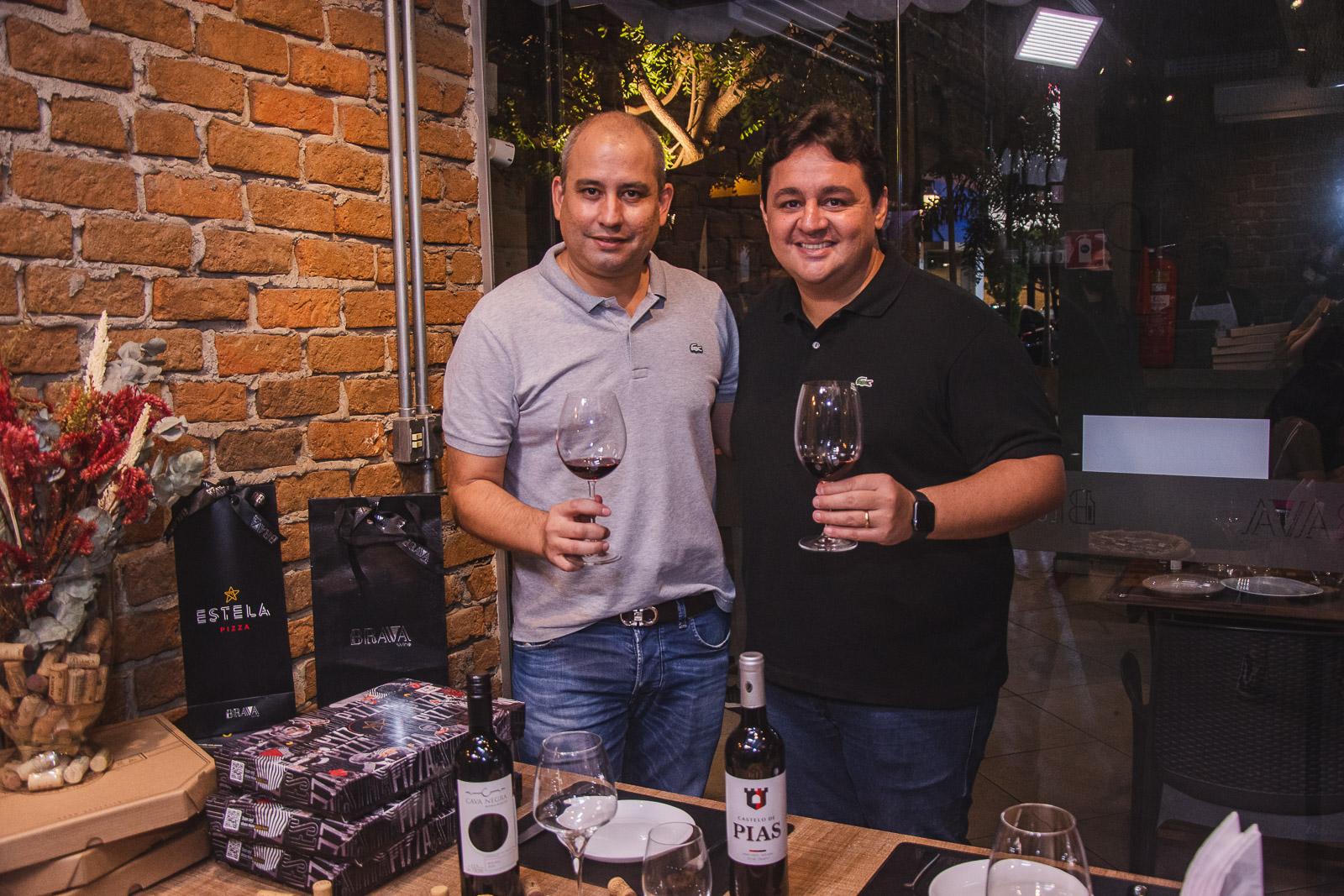 Brava Wine e Estela Pizza lançam collab exclusiva em noite de harmonização