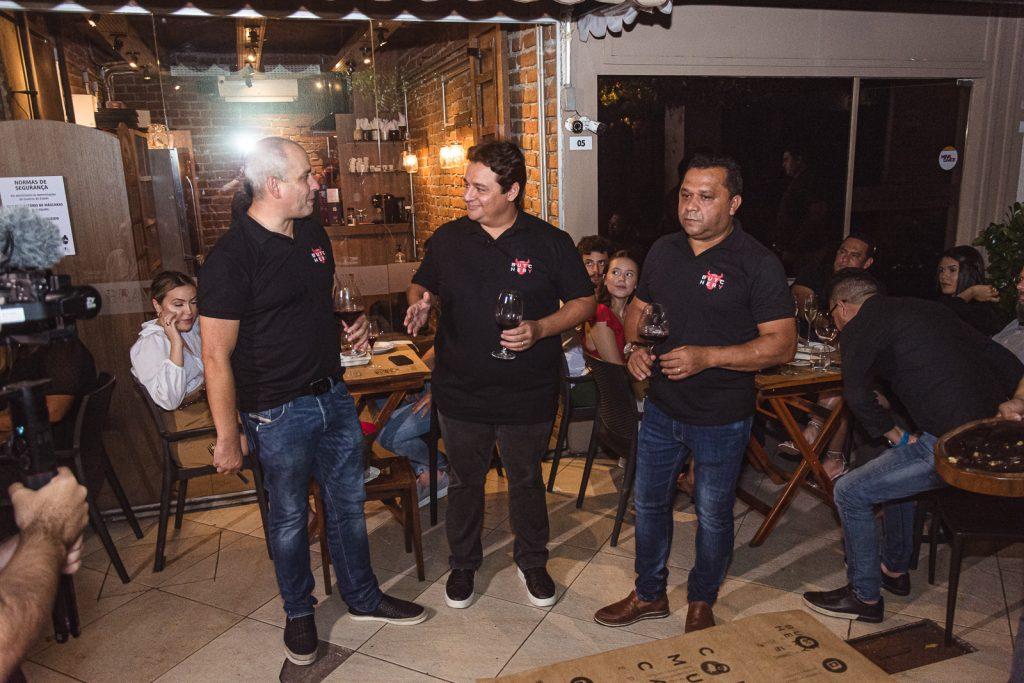 Andre Linheiro, Marcelo Pimentel E Carlos Teixeira (2)