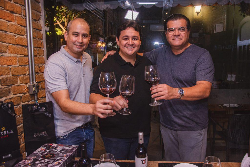Andre Linheiro, Marcelo Pimentel E Odmar Feitosa
