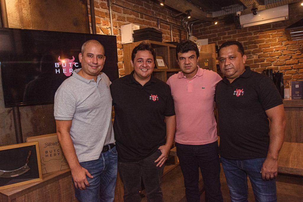 Andre Linheiro, Marcelo Pimentel, Marcelo Braga E Carlos Teixeira