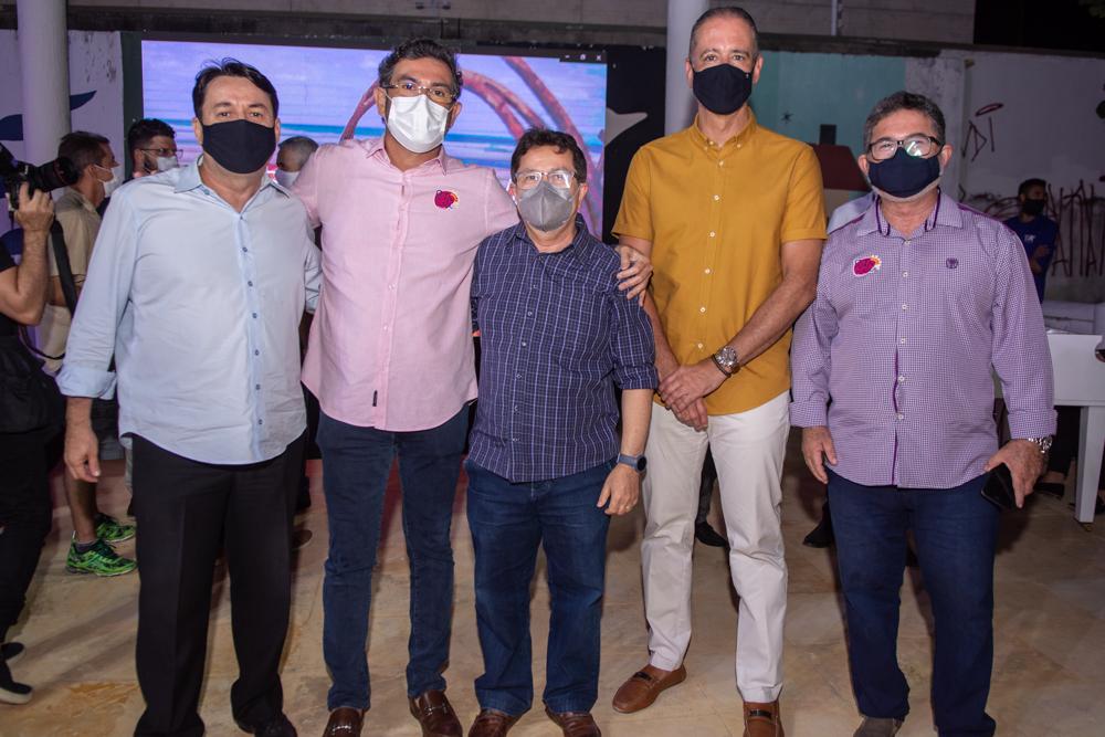 Benigno Junior, Alexandre Pereira, Alcir Porto, Régis Medeiros E Claudio Ricardo