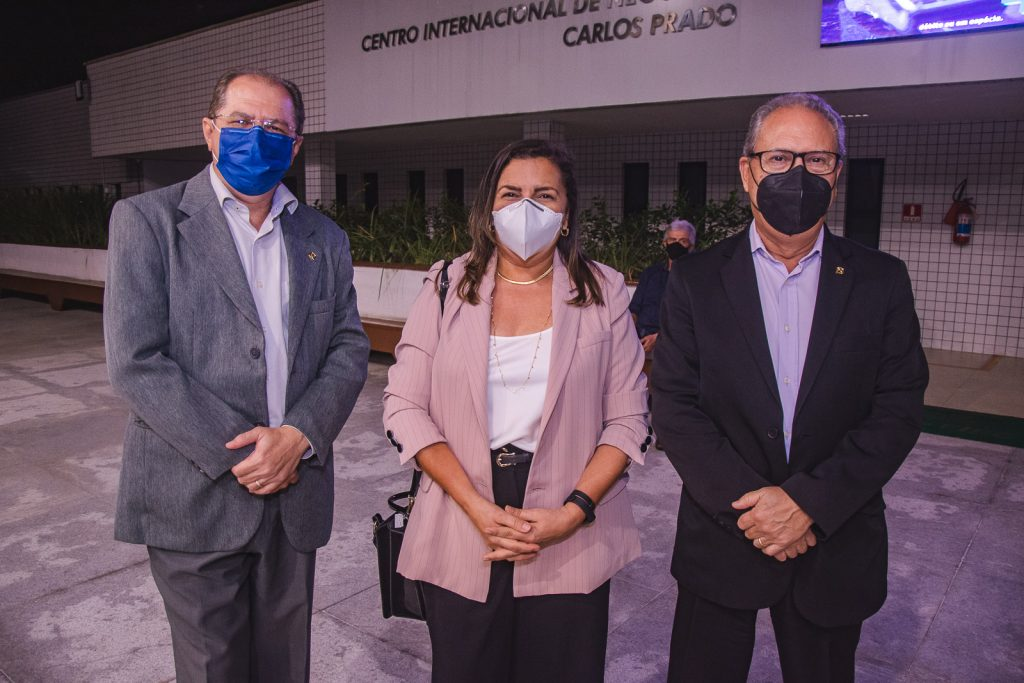 Bruno Pena, Valdiane Pessoa E Cornelio Farias