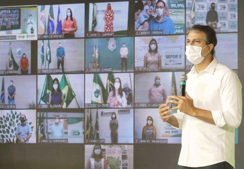Camilo Santana sanciona nova lei que institui o Programa Ceará Educa Mais
