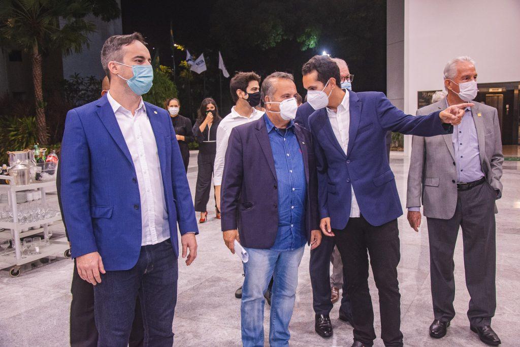 Capitao Wagner, Rogerio Marinho E Domingos Neto