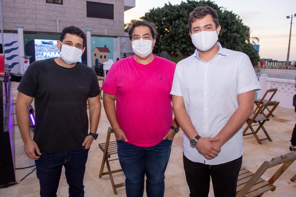 Carlos Eduardo, Jb Uchoa E Rodrigo Barcelos