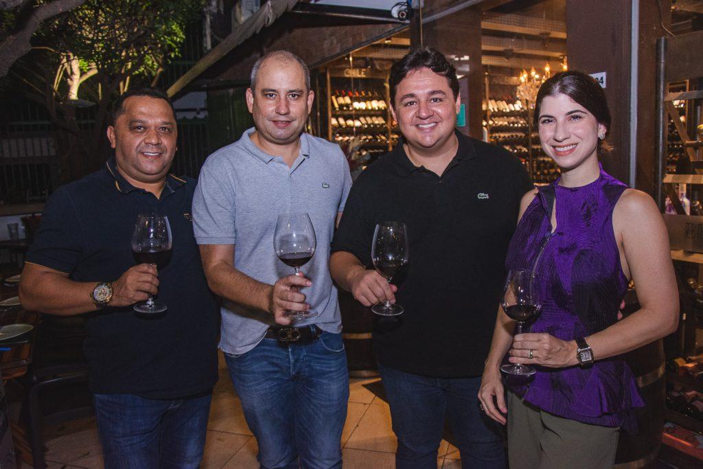Carlos Teixeira, Andre Linheiro, Marcelo Pimentel E Themis Briand