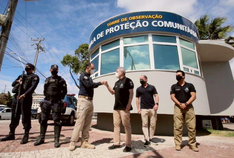 Sarto entrega nova Célula de Proteção Comunitária no Centro de Fortaleza