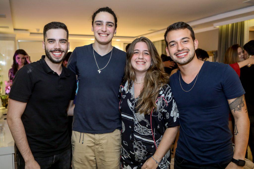 Charles Fernandes, Joao Padilha, Clara Lima E Regis Bomfim