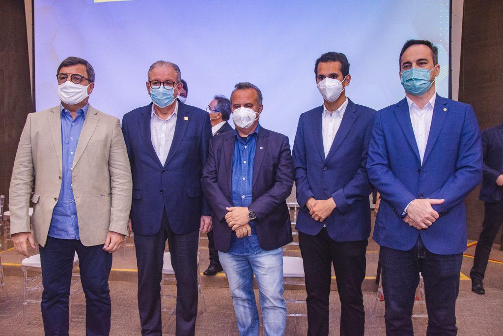 Danilo Forte, Ricardo Cavalcante, Rogerio Marinho, Domingos Neto E Capitao Wagner (2)