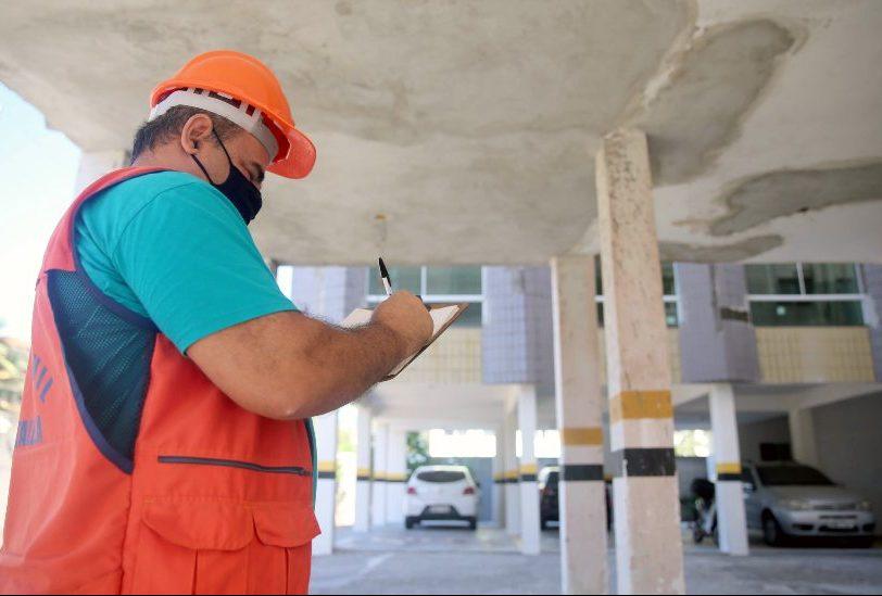 Prefeitura de Fortaleza realiza vistoria preventiva em prédios acima de 35 anos