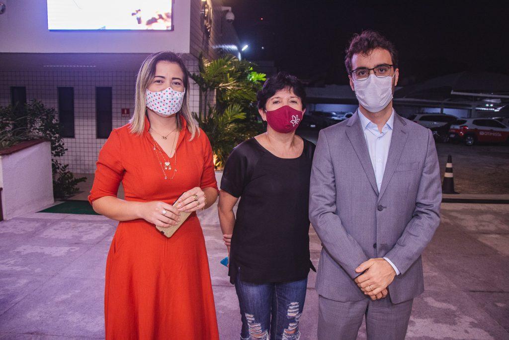 Dieyme Moreno, Ana Maria E Thiago Nogueira