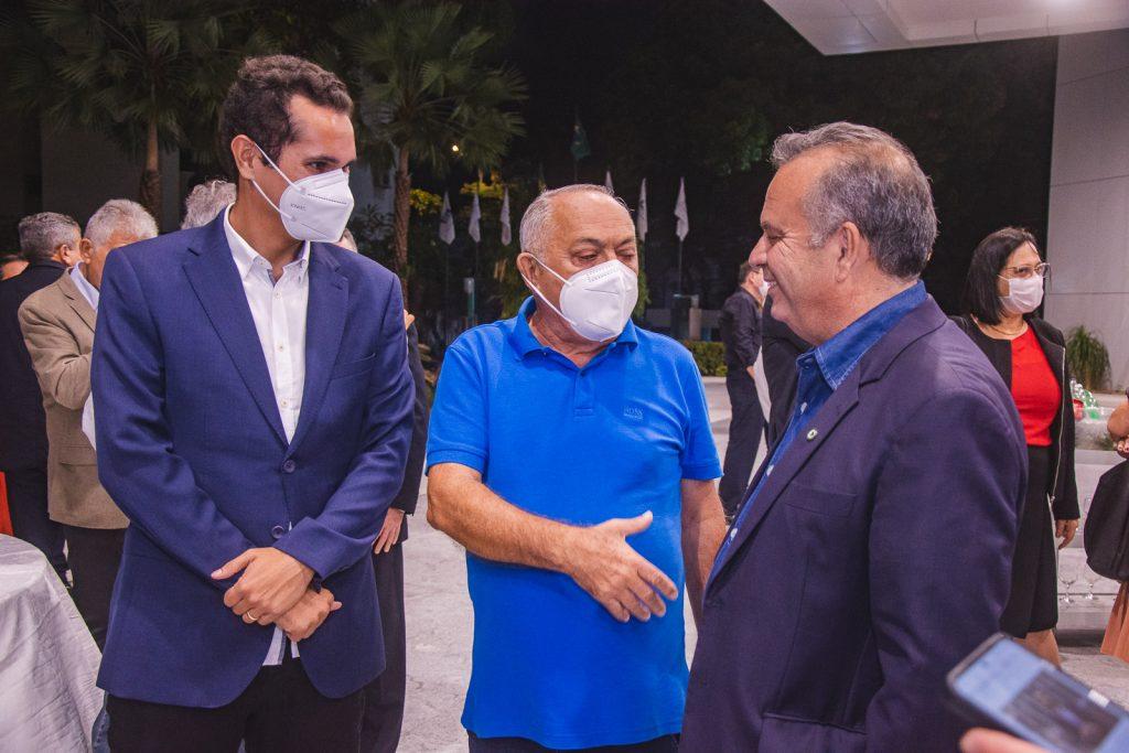 Domingos Neto, Luiz Menezes De Lima E Rogerio Marinho