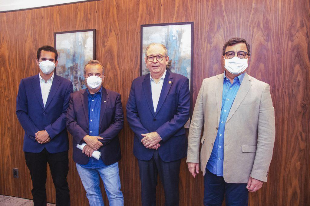 Domingos Neto, Rogerio Marinho, Ricardo Cavalcante E Danilo Forte (2)