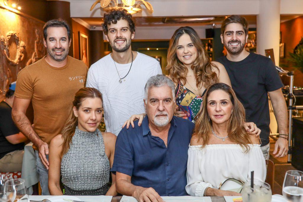 Fabio Fonseca, Clarissa Fonseca, Davi Cartaxo, Waldemar Cartaxo, Brena E Edigar Ximenes, Claudia Cartaxo