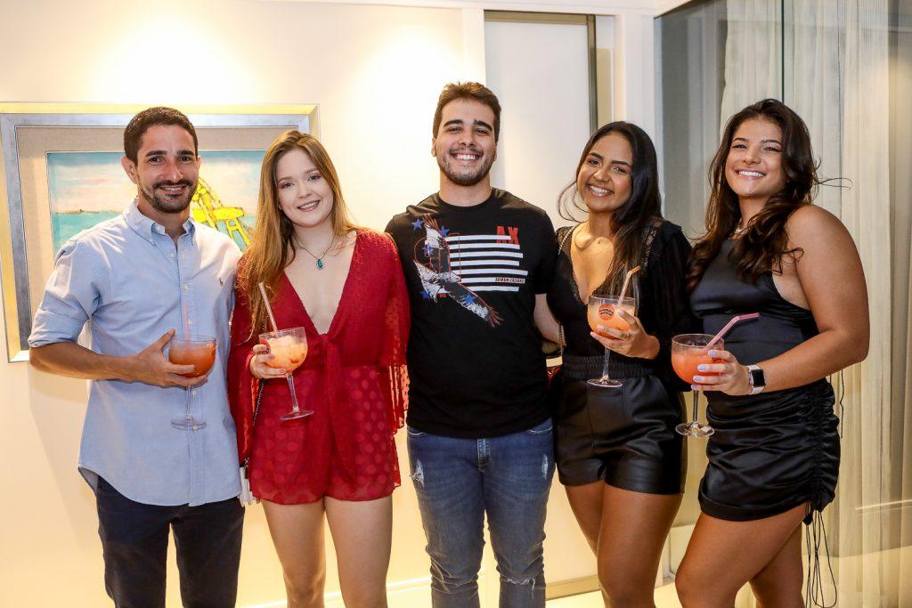 Felipe Leal, Carola Lavour, Davi Teixeira, Ruth Maria E Maria Rita