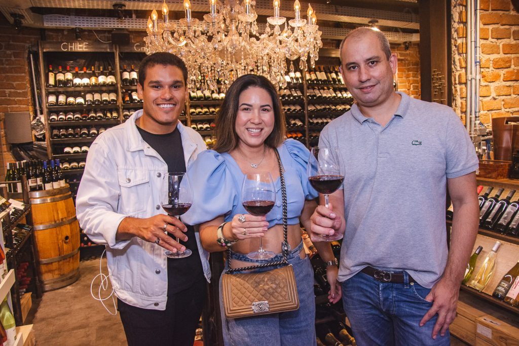 Fellipe Torres, Carol Yamasaki E Andre Linheiro