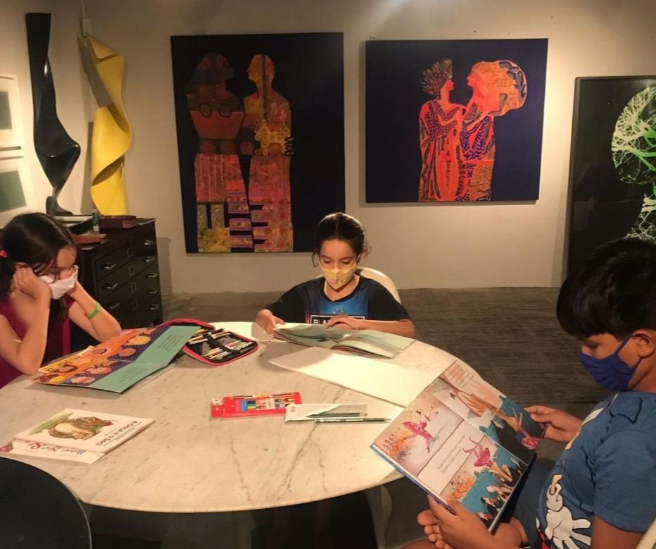 Galeria Mariana Furlani promove curso sobre história da arte e desenho para o público infantil