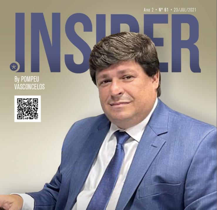 George Lima é capa da nova edição da Revista INSIDER