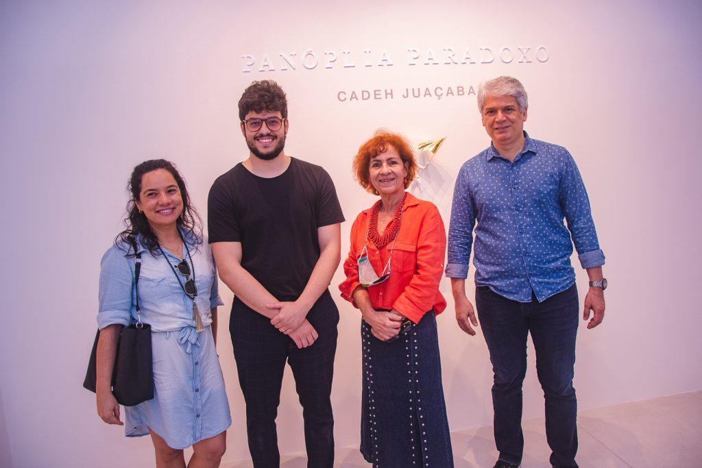 Graciele Siqueira, Cadeh Juaçaba, Lilia Quindere E Leonardo Leal