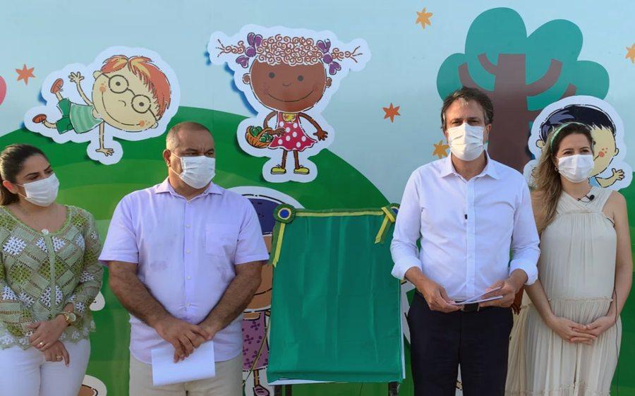 Camilo e Onélia Santana entregam uma nova Praça Mais Infância em Icapuí