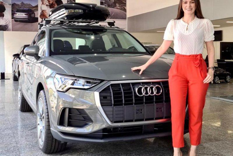 Novo Q3, SUV premium alemão, tá de promoção na Audi Fortaleza