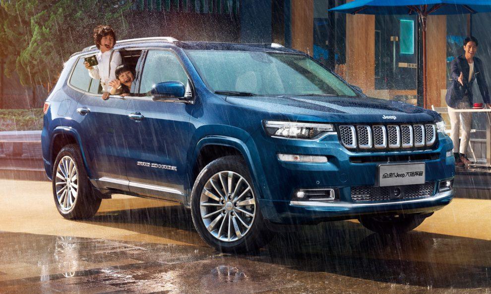 Imagens do novo e sofisticado SUV da Jeep já começam a pipocar na mídia