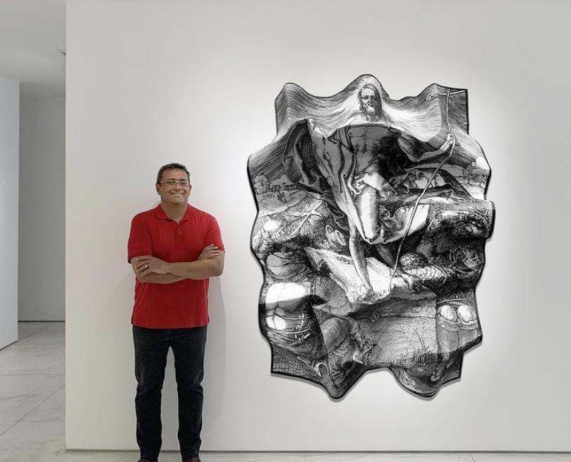 Veterano das artes, José Guedes leva suas obras até Paris