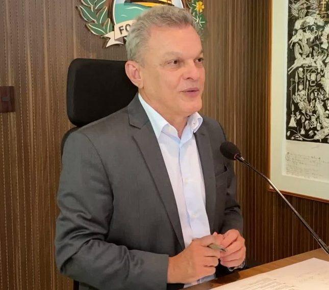 Sarto anuncia que Fortaleza tem 50,25% da população vacinada com primeira dose