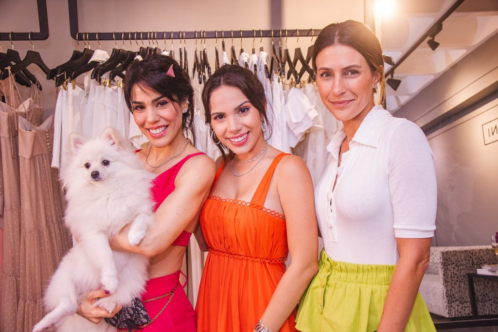 Juliana Cordeiro, Nicole Vasconcelos E Livia Rolim