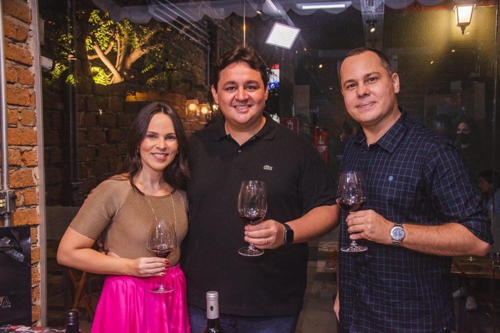 Juliana Pimentel, Marcelo Pimentel E Andre Pinheiro