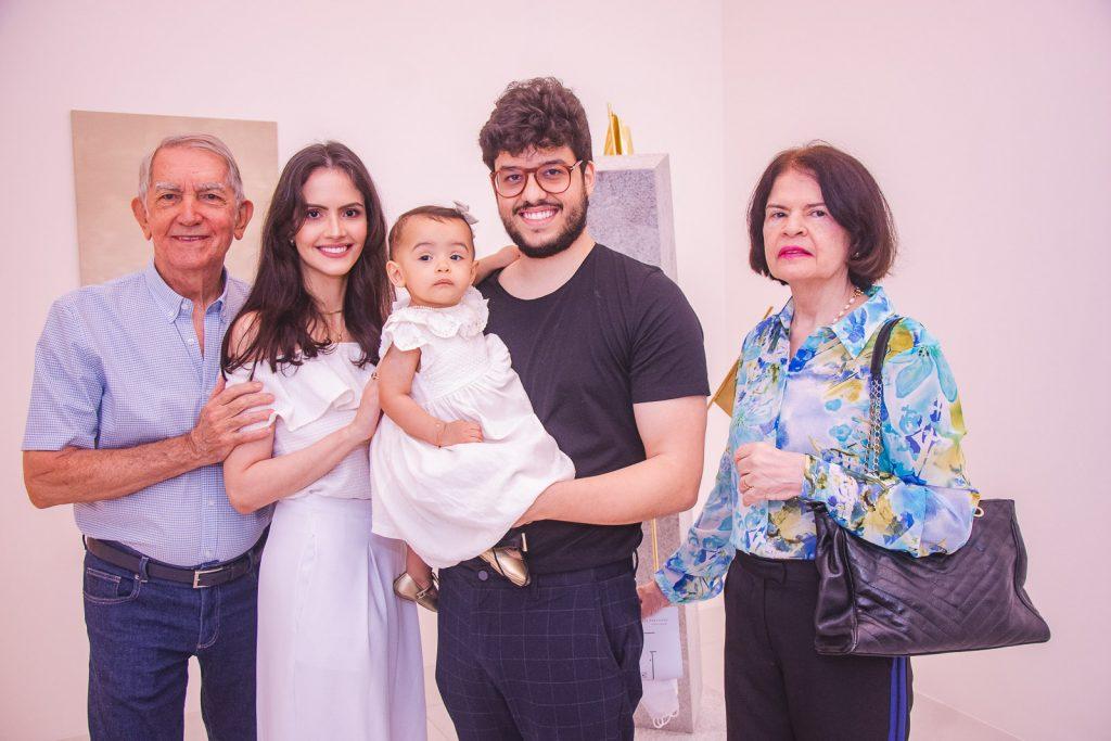 Leandro De Castro, Roberta Juaçaba, Maria Beatriz Juaçaba, Cadeh Juaçaba E Jane Furtado