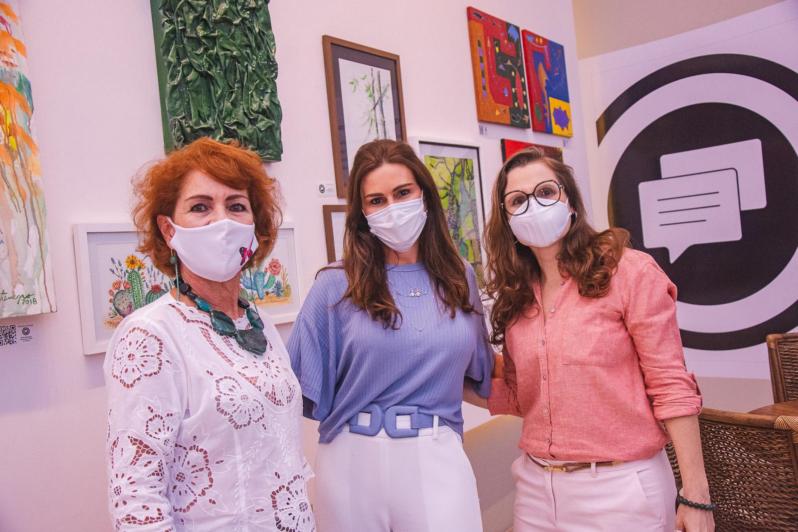 Espaço Cultural Ana Amélia recebe encontro pilotado por Andréa Dall'Olio, Veridiana Brasileiro e Lilia Quinderé
