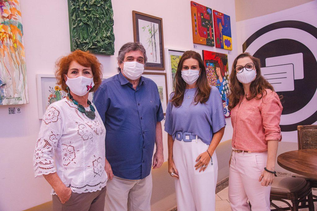 Lilia Quindere, Totonho Laprovitera, Ivana Bezerra E Andrea Dallolio
