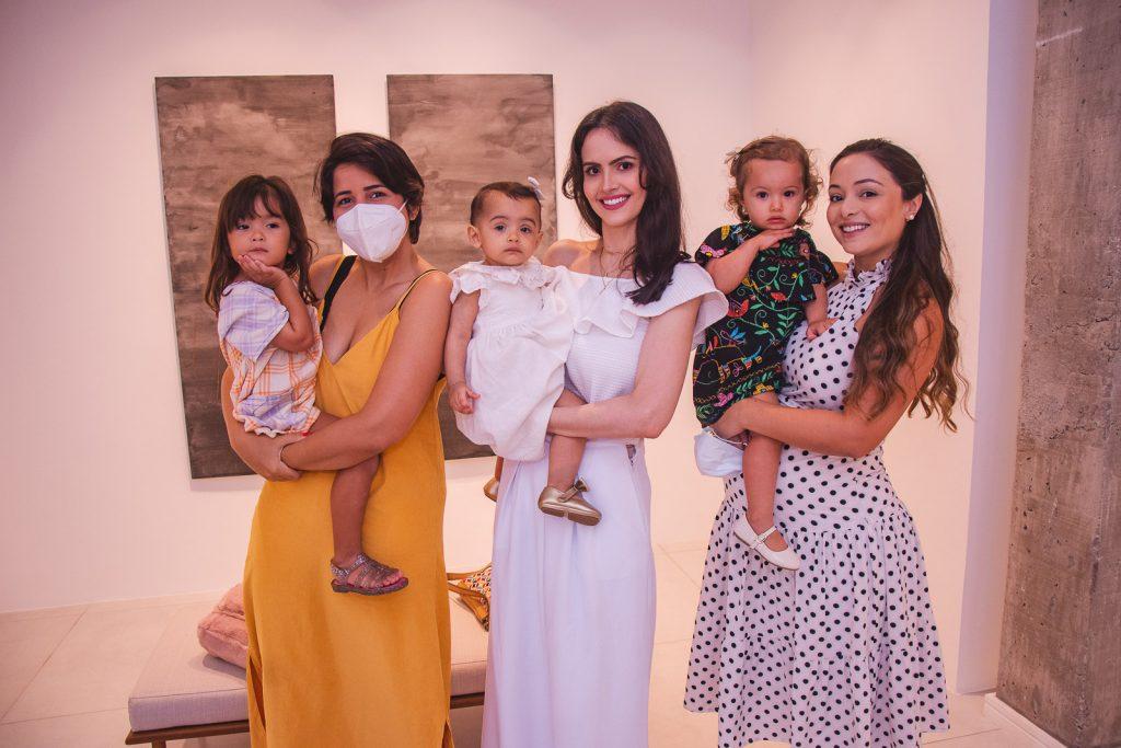 Luiza Rovere, Lara Rovere, Maria Beatriz Juaçaba, Roberta Juaçaba, Lara Gois E Marina Arrais