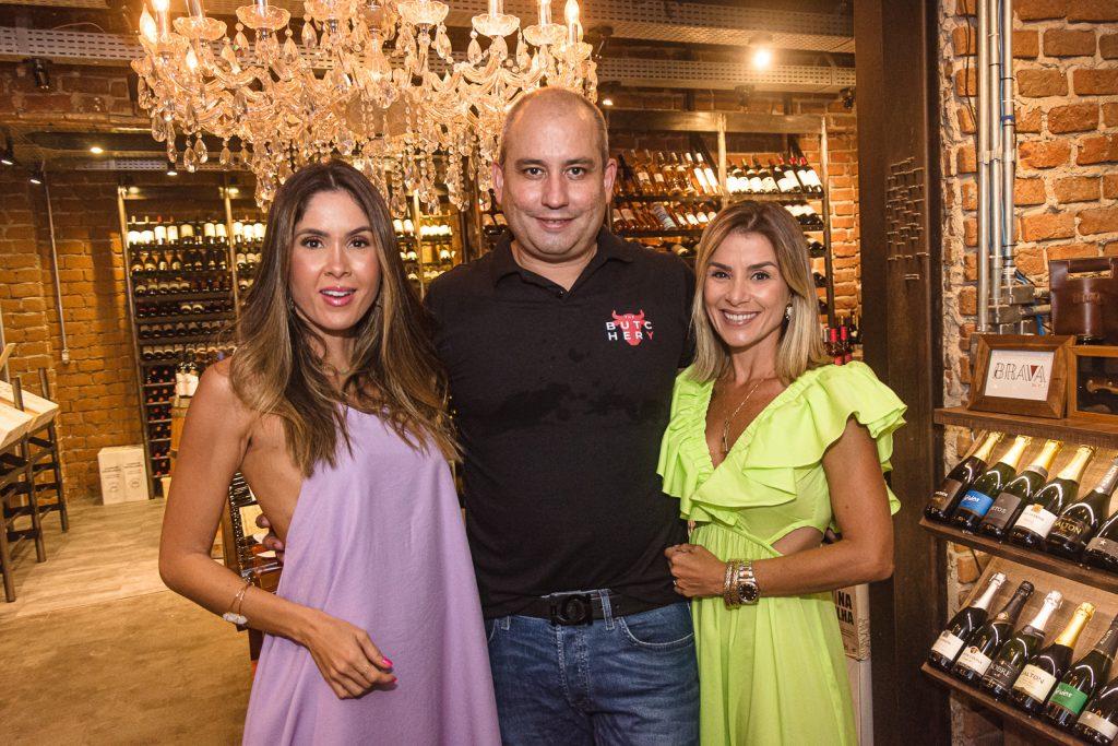 Manoela Castro, Andre Linheiro E Roberta Quaranta