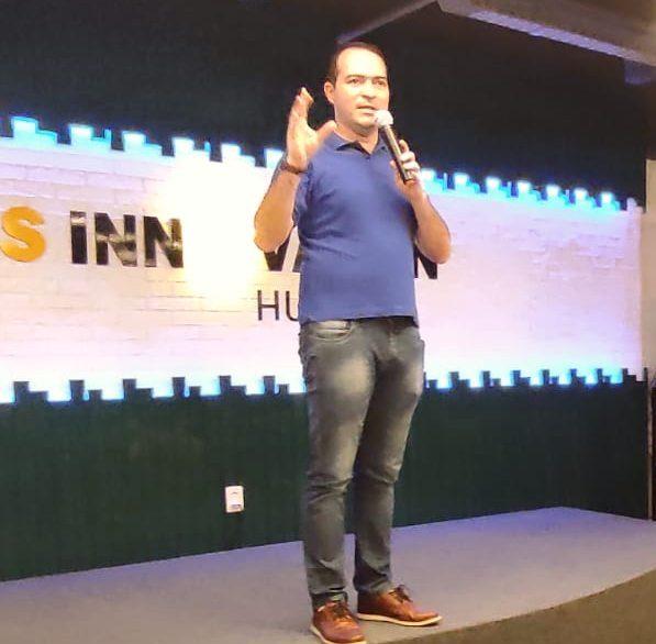 Marcelo Paz descarta concorrer a cargo público em evento no BS Innovation Hub