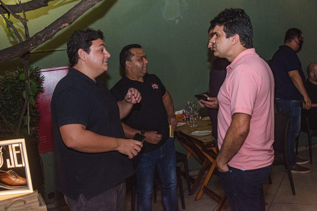 Marcelo Pimentel, Carlos Teixeira E Marcelo Braga