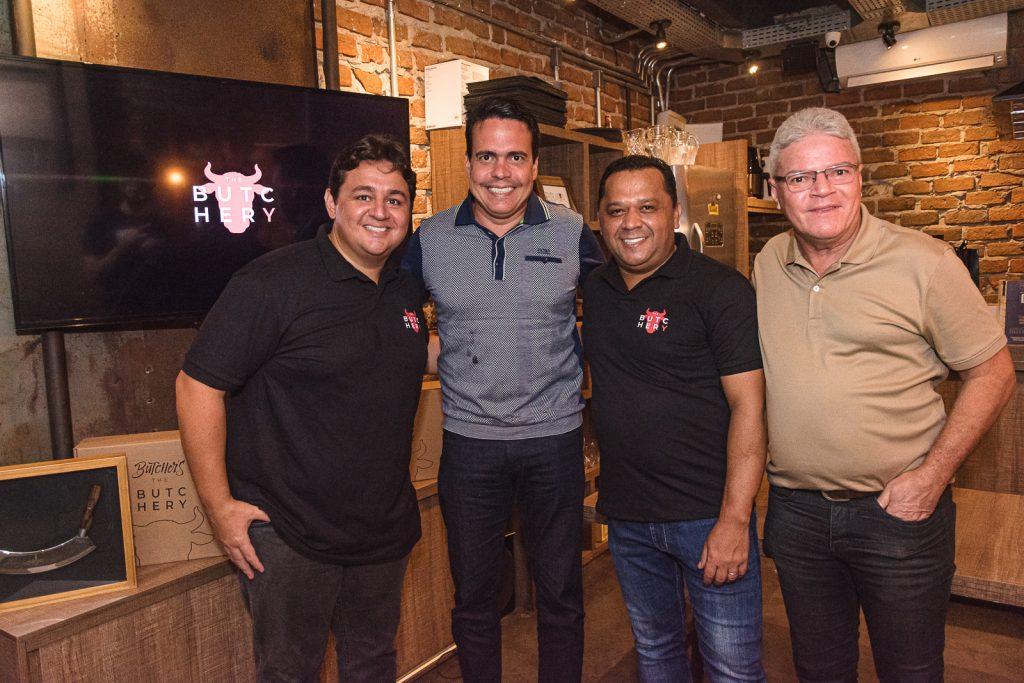 Marcelo Pimentel, Fabiano Barreira, Carlos Teixeira E Edson Arouche