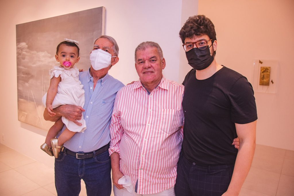 Maria Beatriz Juaçaba, Leandro De Castro, Carlos Juaçaba E Cadeh Juaçaba