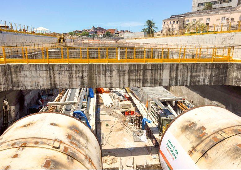Trânsito será bloqueado na Av. Santos Dumont devido a obras do Metrofor