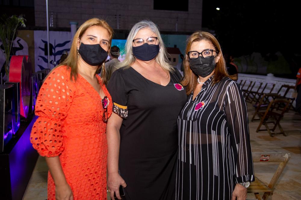 Natasha Sá, Ivanilde Pinheiro E Valeria Cavalcante