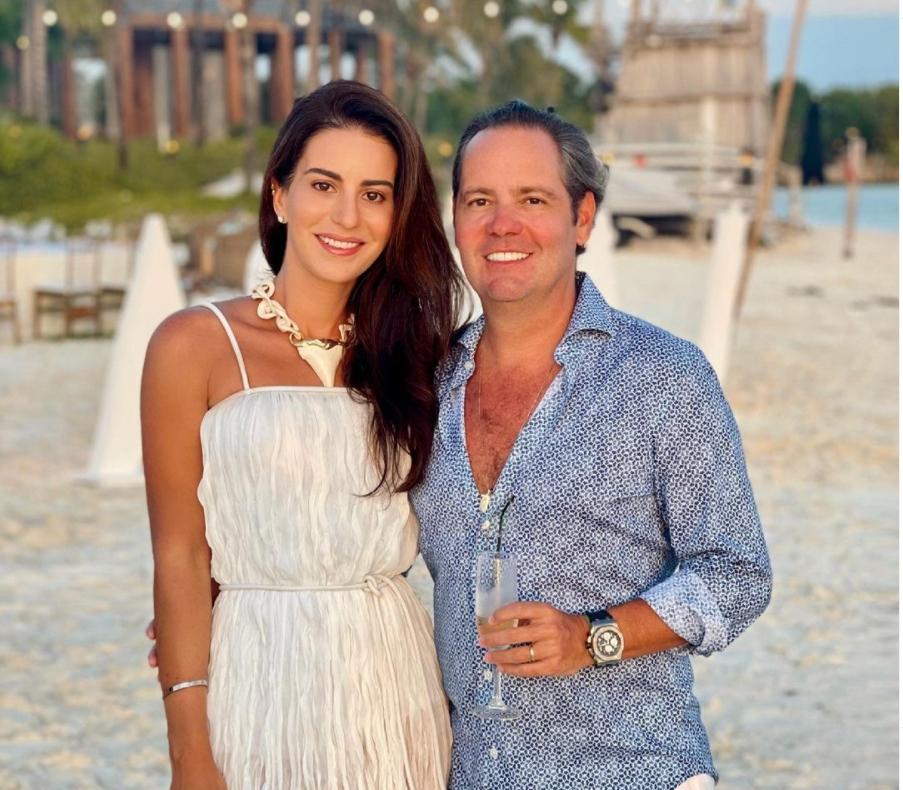 Natasha Pinheiro e Leonardo dos Mares Guia curtem viagem pelo Caribe