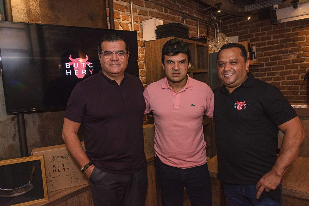 Odmar Feitos, Marcelo Braga E Carlos Teixeira