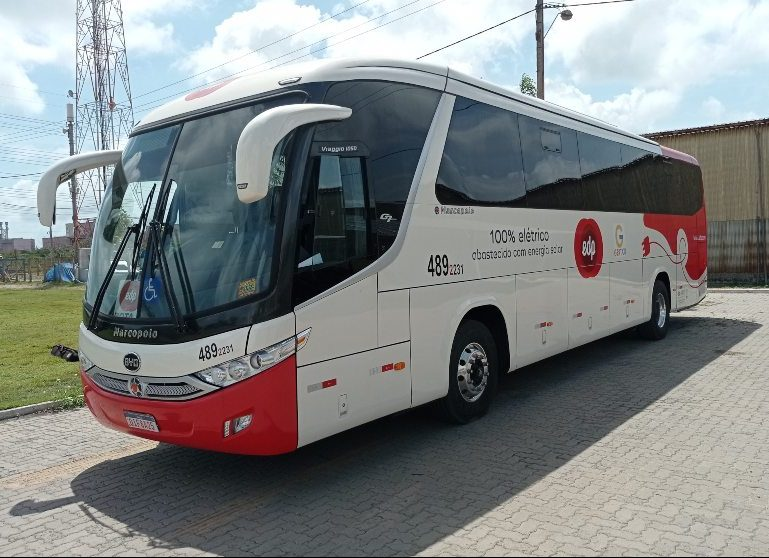Ônibus elétrico evita a emissão de 40 toneladas de CO² no ar em nove meses