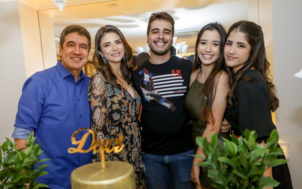 Paulo, Rachel E Davi Teixeira, Ana Clara Ramalho E Beatriz Teixeira