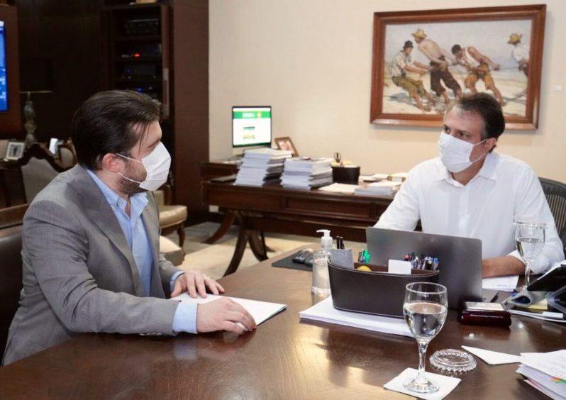 Pedro Bezerra discute com Camilo novas estratégias para a economia do Ceará
